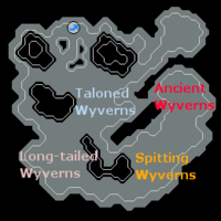 Wyvern Cave map