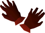 Dragon gloves detail