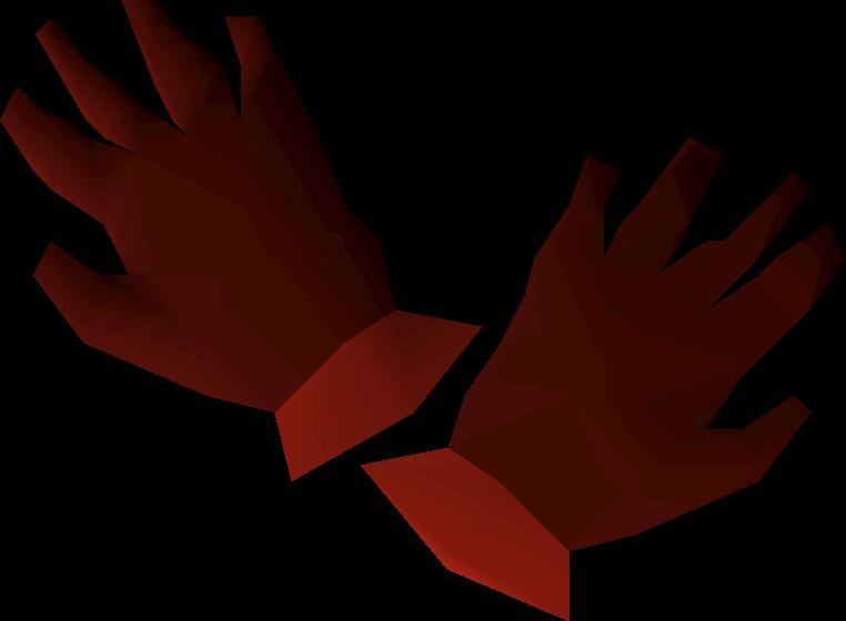 Dragon gloves | Old School RuneScape Wiki | FANDOM powered
