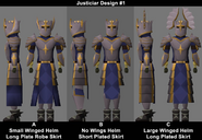 Justiciar armour work-in-progress