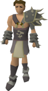 Bandos armour equipped