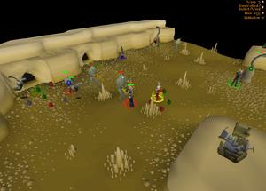 Barbarian Assault gameplay