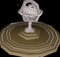 Armillary sphere built