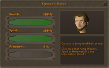 Dream mentor cyrus stats