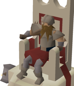 Mystery figure (dwarf)