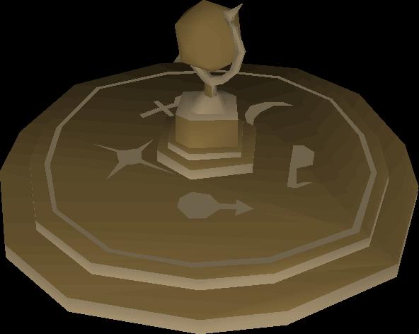 Ornamental globe built
