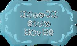 Cosmic rune altar strange symbols