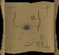 Map clue Mogre Camp