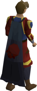 Deadman's cape equipped