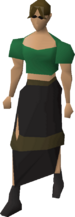 Ragged skirt