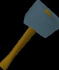 Rune warhammer detail