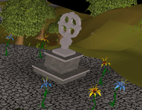 Waterfall Quest glarial's tombstone