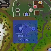 Heroes' Guild location