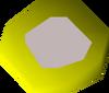 Diamond amulet (u) detail