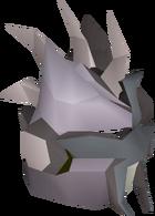 Slayer helmet (i) detail