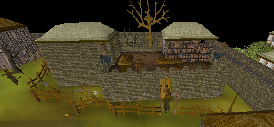 Roof Entrance Osrs A Player Fights The Grotesque Guardians