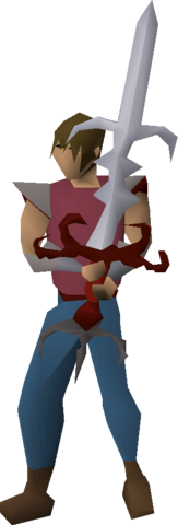 File:Zamorak godsword (or) equipped.png