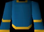 Blue wizard robe (g) detail