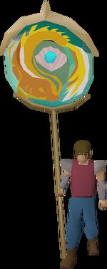 Piscarilius banner equipped