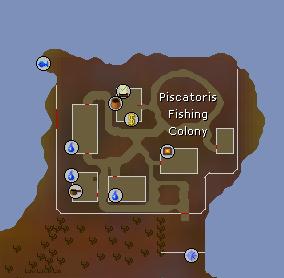 Piscatoris Fishing Colony map