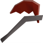 Dragon axe detail