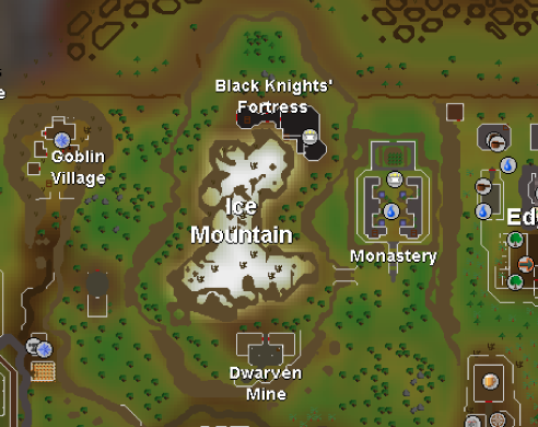 Ice Mountain | Old School RuneScape Wiki | FANDOM powered by Wikia