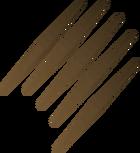 Javelin shaft detail