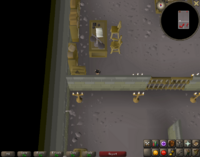 Cryptic clue - search crates west varrock bank