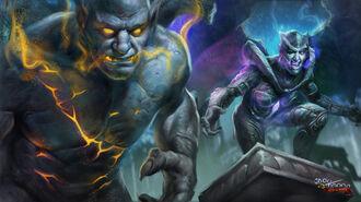 Grotesque Guardians artwork