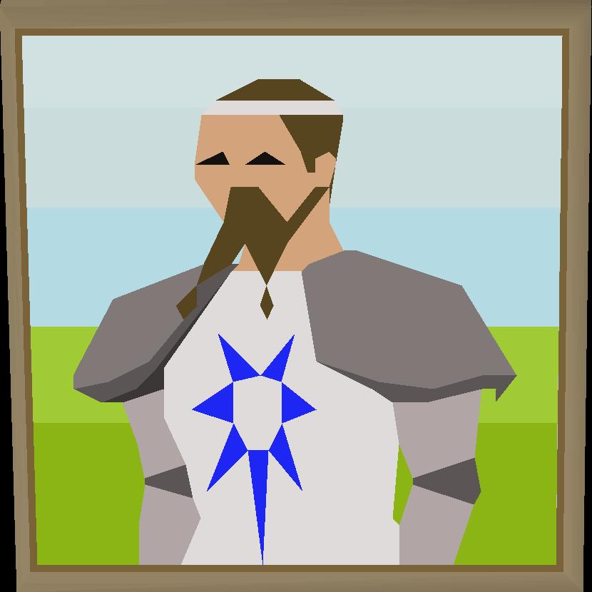 King arthur portrait built