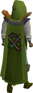 Ranging cape equipped