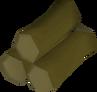 Willow logs detail