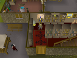 Emote clue - anger wise old man