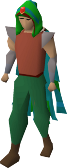 Guthix max hood equipped