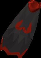 Imbued zamorak cape detail
