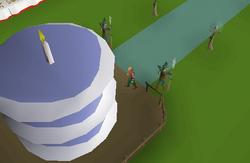 OSRS 1st birthday cake
