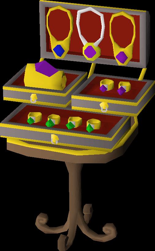 Ornate jewellery box   Old School RuneScape Wiki   FANDOM powered by ...
