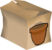 Plant pot pack detail