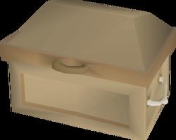 Oak fancy dress box built