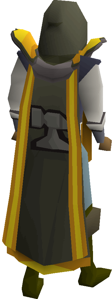 Smithing cape(t) equipped