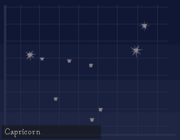 Star Chart Viewer Capricorn