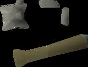 Verac's flail 0 detail