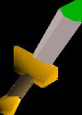 White dagger(p) detail