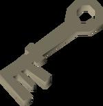 Brittle key detail