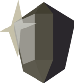 Black prism detail