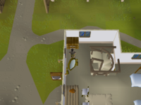 Cryptic clue - search drawers falador shield shop