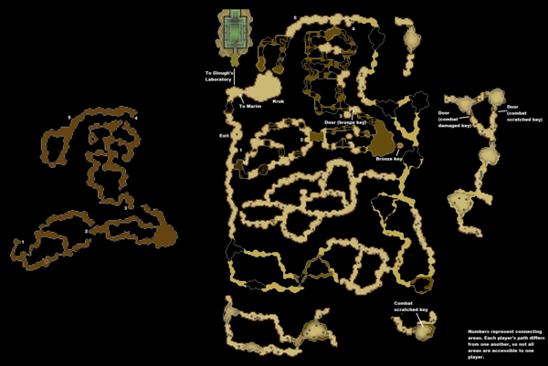 Kruk's Dungeon map