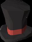Top hat detail
