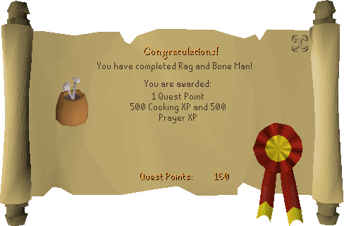 Rag and Bone Man reward scroll