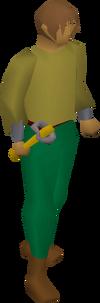 Oak blackjack(d) equipped